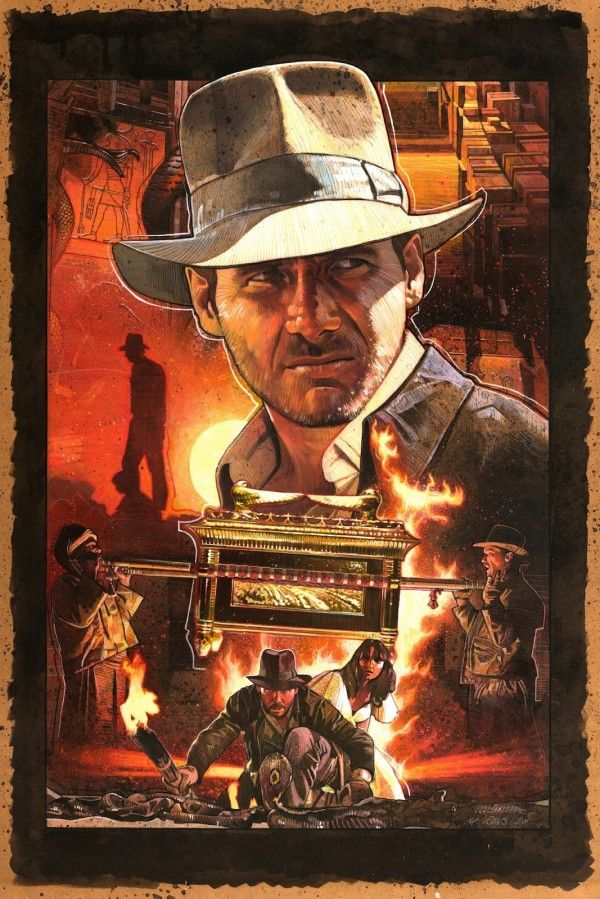 Raiders of the Lost Ark - Artwork by Mark Raats