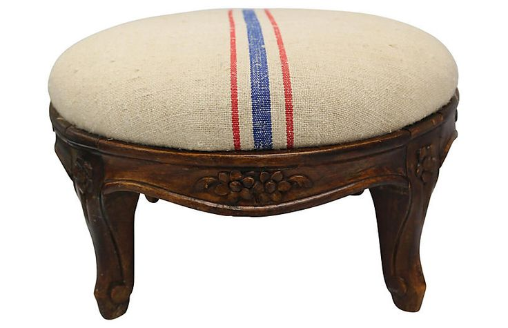 Antique French Footstool $425.00