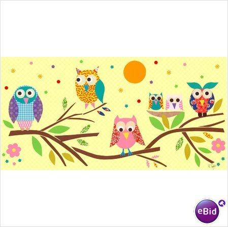 Owl's Family Tree Cross Stitch Pattern
