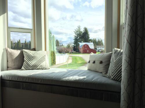 Modern Bay Window Ideas Exterior Bay Window Cushion Window