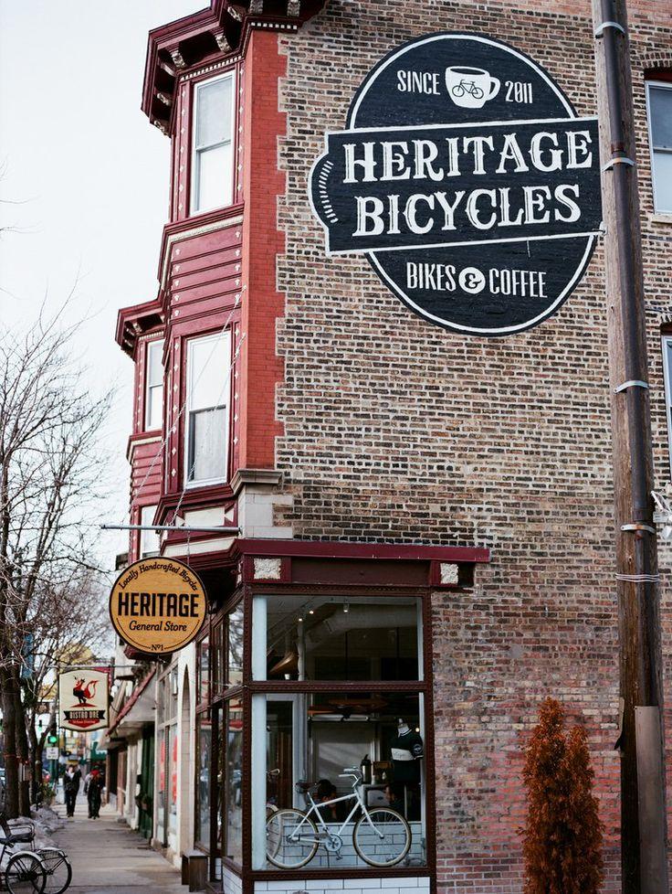 CHICAGO: HERITAGE BICYCLES bikes & coffee