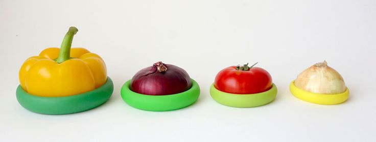 food huggers by adrienne micnicholas and michelle ivankovic designboom. They preserve partially used food