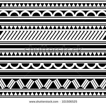 Maori / Polynesian Style tattoo bracelet\