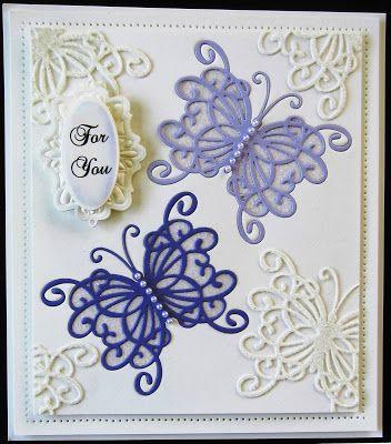 PartiCraft (Participate In Craft): Inlaid Butterflies