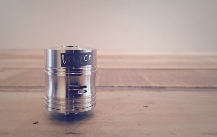Named one of the top flavour chasing RDAs of 2014, the Vertex v2 is one smooth & tasty RDA. The airflow is open but more on the restrictive side, the design allows for very smooth quiet flow. #vape #rda #vapelyfe
