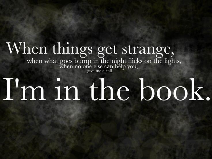 Things Get Strange by ~Tzadikim on deviantART