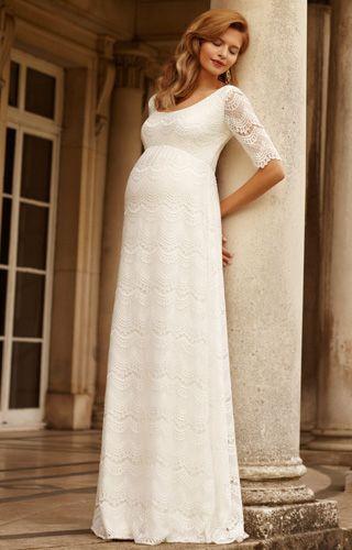e8b1325c1 Verona Maternity Wedding Gown (Ivory) - Maternity Wedding Dresses