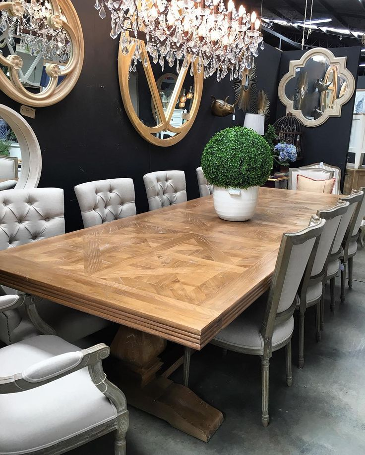 10 best parquet table top images on pinterest dining for 12 seater dining table sydney