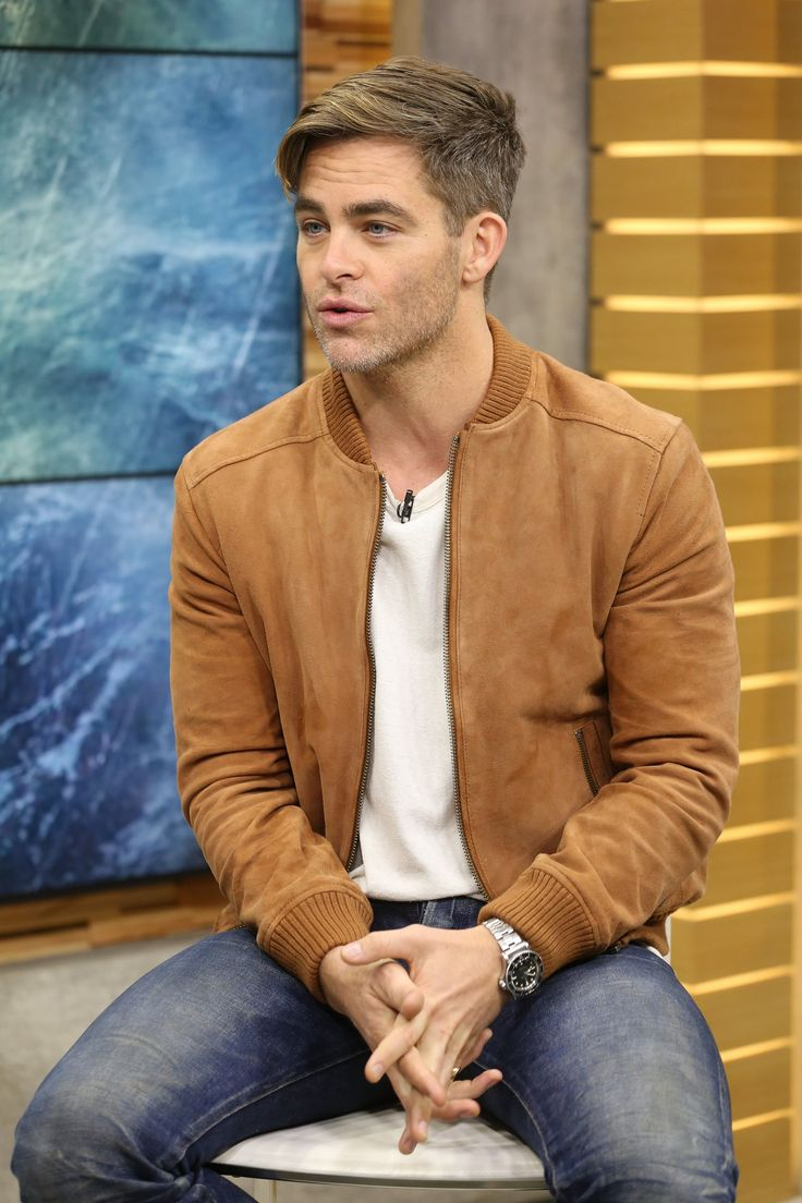 01/27/16 - Visiting Good Morning America - 002 - IMG Archive » chris-pine.org | chris-pine.net | Hosting over 40,000 images Chris-Pine.org is your #1 stop for Chris Pine images.