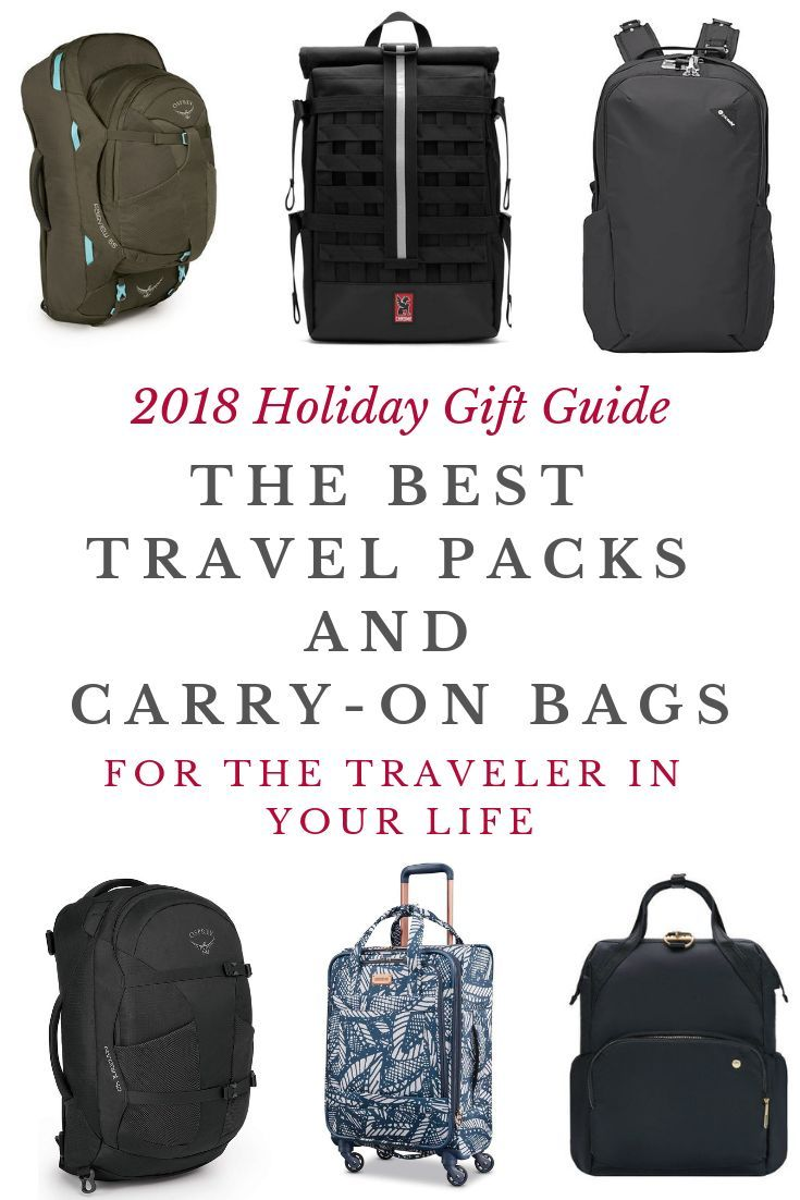 Looking to gift the traveler in your life a new travel bag  Choosing the  perfect travel backpack or carry-on can be daunting, but…   Travel    Lifestyle in ... 588dea1fff