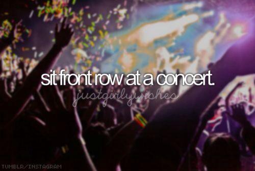 PLEASE!!!! Preferably a Francesca Battistelli concert or a Skillet concert :P