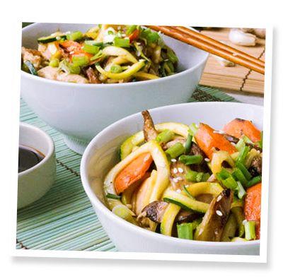 Low-Carb Chicken Lo Mein | SweetLeaf®
