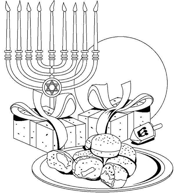 40 besten Hanukkah Bilder auf Pinterest | Ausmalbilder ...