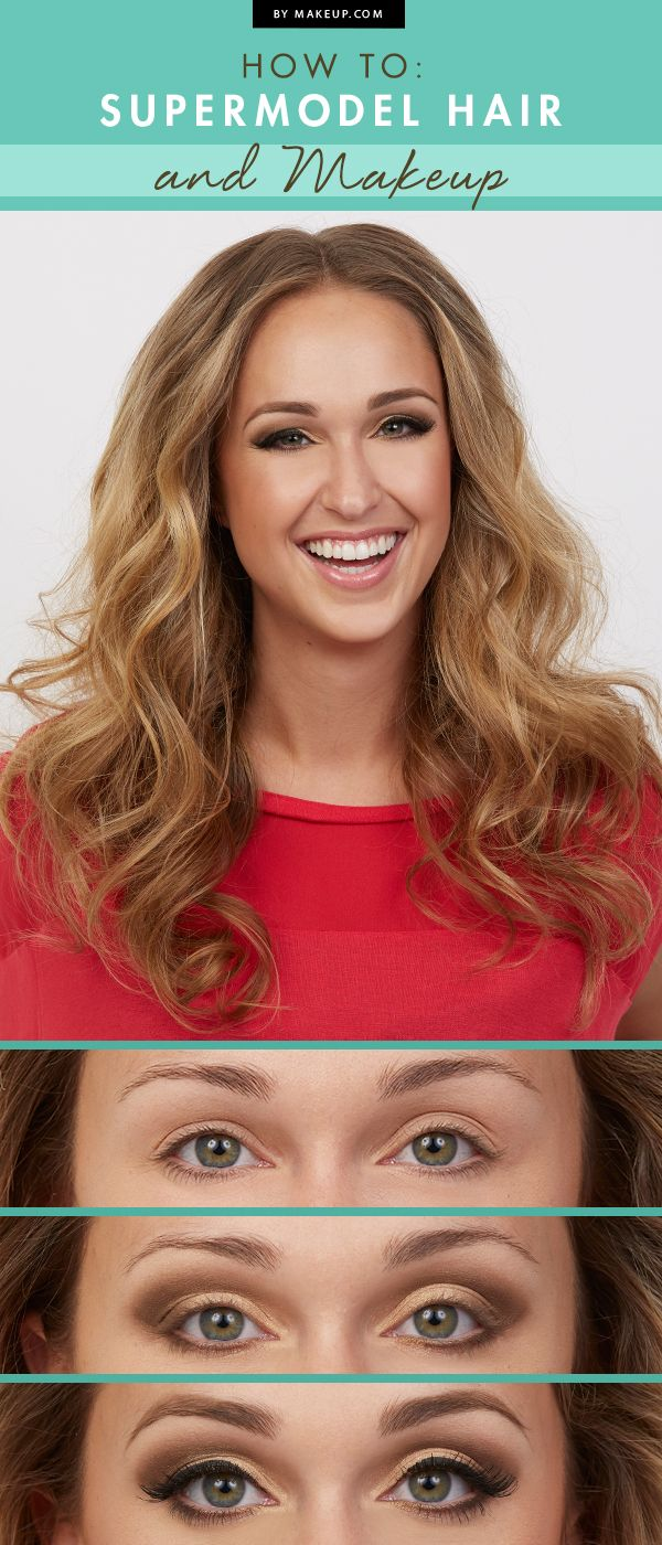 We've always got an eye on the runway, and we just love looking at the supermodel's hair and makeup! To help you look runway-ready, we pulled together this tutorial. Here's how to get the coveted look!