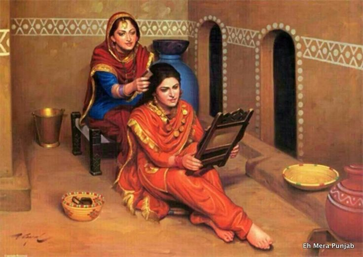 Traditional Punjab.