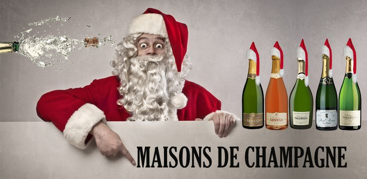 """Nothing says """"celebration"""" more than an elegant champagne gift from Maisons de champagne!"""