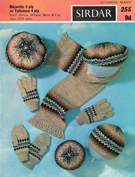 PDF Vintage 1950s Baby Knitting Pattern Sirdar 255 Sunshine