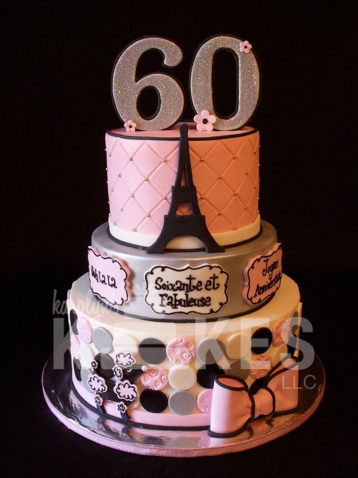 Paris 60Th Birthday  on Cake Central