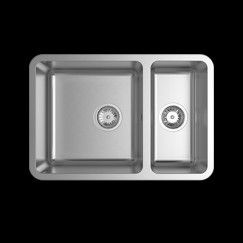 Undermount Kitchen Sink - includes cutting board and draining tray