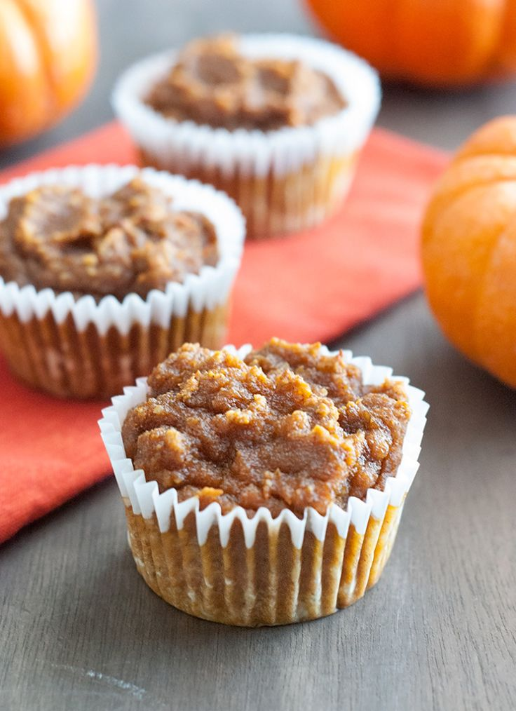 Healthy & Delicious Pumpkin Muffins - these are the easiest and tastiest low carb friendly pumpkin muffins ever. (almond meal, coconut flour)