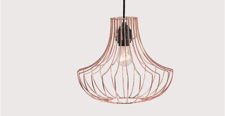 Coop Pendant Shade, Copper | made.com