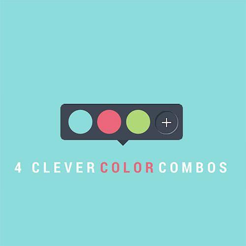 配色に困ったら試したい!デザインにグッと効く、素敵カラーパレット4選