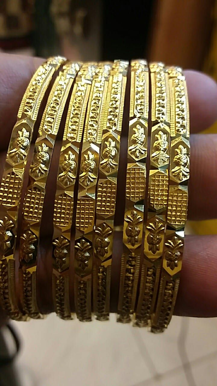 hand made gold bangles latest model made by balaji jewellers ecil
