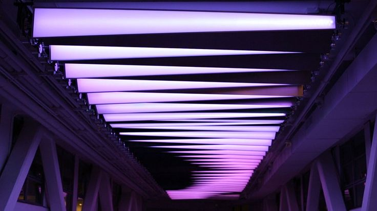 prismatic_NYC light installation adapts to surroundings to generate calming waveforms