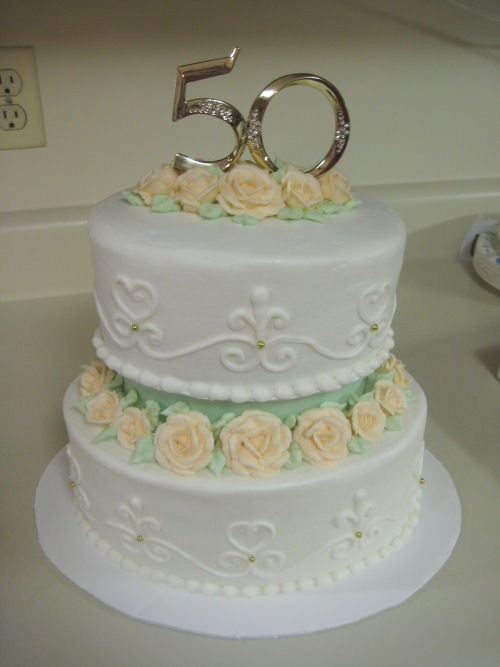 top tier wedding cake anniversary small 2 tier 50th anniversary cake special events and 21073