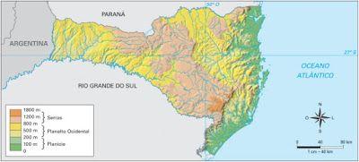 Santa Catarina - Conheça seu Estado (História e Geografia): 34 - Clima e relevo no estado de Santa Catarina