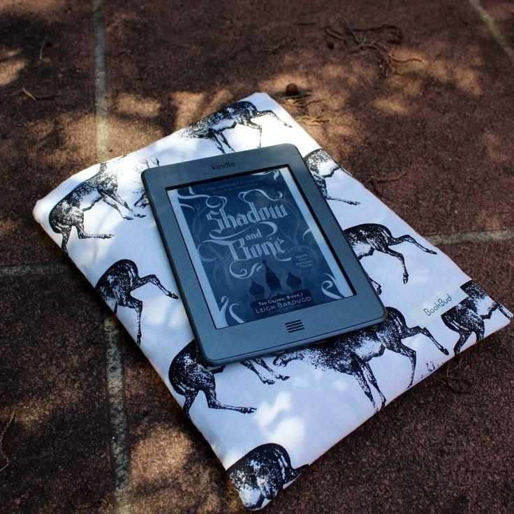 Morozova's Stag book sleeve by BookBud. https://www.etsy.com/au/shop/BookBudByGabrielLea?ref=hdr_shop_menu