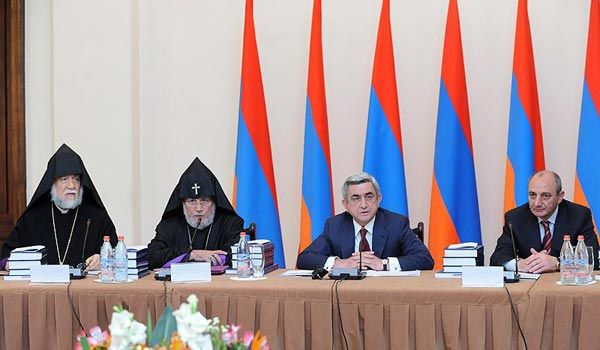 armenian genocide 100 year symbol | Armenian genocide centennial commemoration commission begins its work