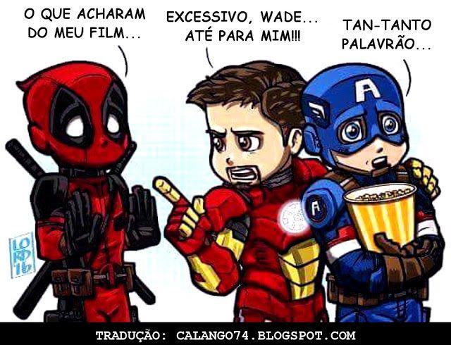 Post Comico ™ : Deadpool Filme