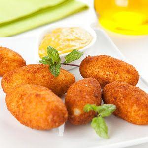 Otra rica variante de croquetas para veganos y vegetarianos. En esta ocasión croquetas de zanahoria.
