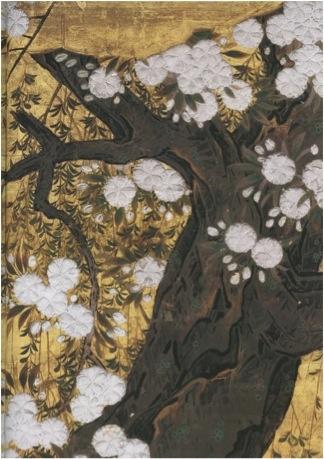 Hasegawa Tohaku's Pines, Maples, and Cherry Trees, c. 1591