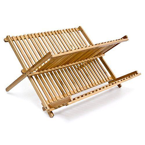 Relaxdays 2-Tier Bamboo Foldable Dish Rack Relaxdays https://www.amazon.co.uk/dp/B005GTCWO2/ref=cm_sw_r_pi_awdb_x_RAFLybNCPHRBP