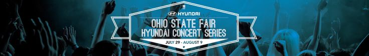 How would you like to attend one of the Ohio State Fair Hyundai Concert Series shows for FREE? During the months of June and July, we will be hosting a few contests on our Pinterest page to give away tickets to see some of your favorite artists LIVE at the Fair this summer. Stay tuned!