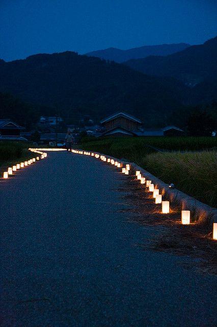 Asuka Lighting Festival, Nara, Japan