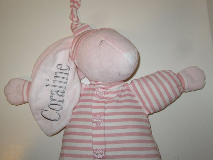51 best christmas gift ideas images on pinterest christmas gift personalized bunny sleepy head bunny pink by theinitialgift negle Image collections