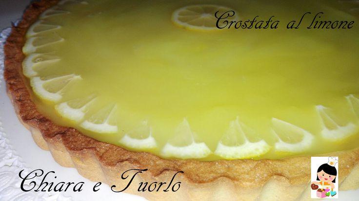 Crostata fresca al limone