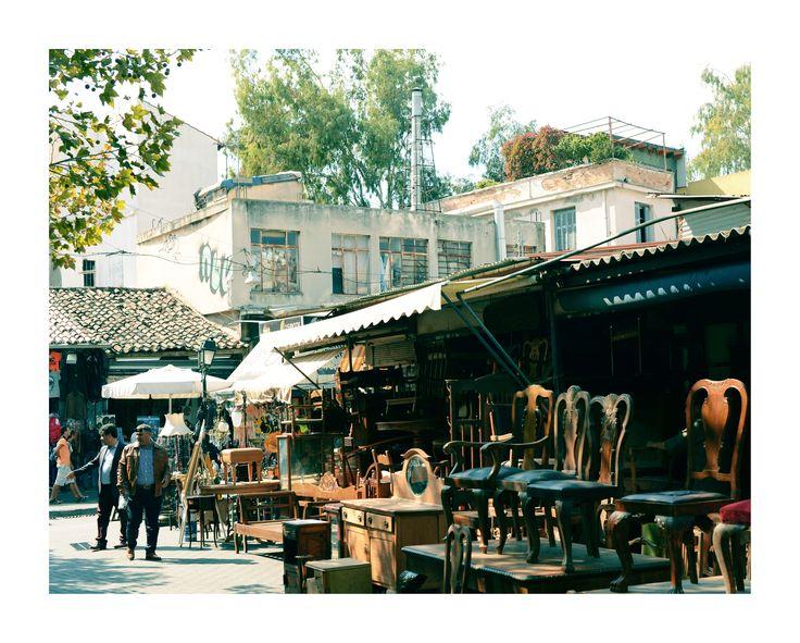 Athens street markets #solebike