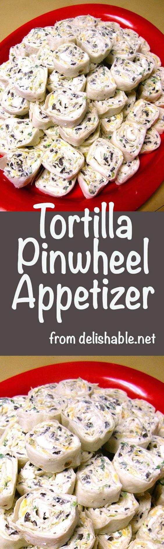 Tortilla Pinwheel Appetizer