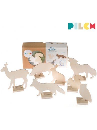 Pilch, zestaw plastyczny dla dzieci Leśne Zwierzęta 35,00