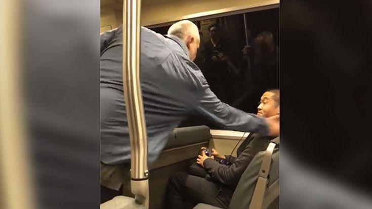 """""""Te odio, negro chino"""": Un pasajero racista ataca a un asiático en el metro de San Francisco (VIDEO)"""