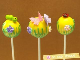 Spring Cake Pops!