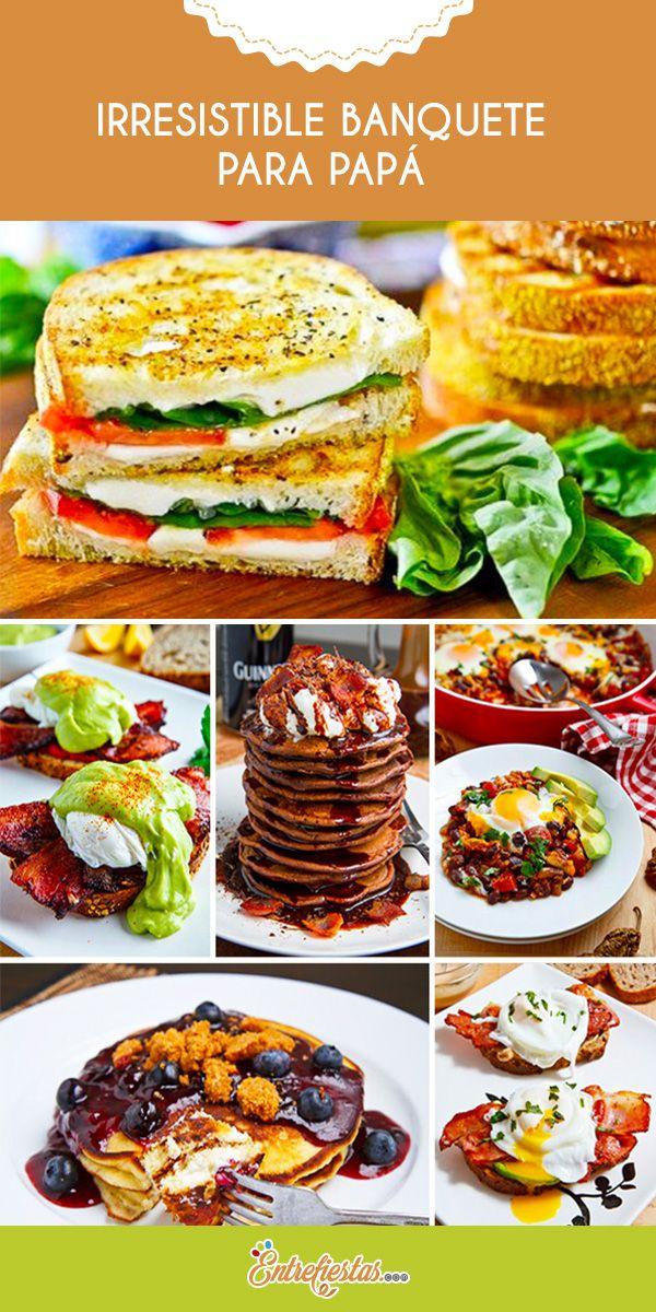 ¿Estás buscando el menú ideal para el día del padre? Entonces no te pierdas el siguiente post que te mostrará variadas y deliciosas opciones culinarias para que sorprendas a ese maravilloso progenitor durante su día.
