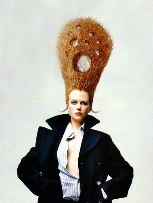 Magnificent 1000 Images About Crazy Hairstyles On Pinterest Crazy Short Hairstyles Gunalazisus