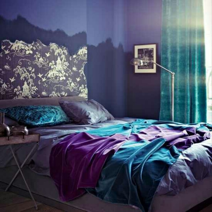 Love The Jewel Tones Room Master Bedroom Pinterest Jewel Tones Purple And Teal
