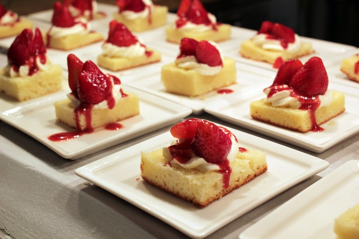 Strawberry Shortcake always reminds us of summer. Whether it's fond memories or the pastry chefs at Wicked Spoon, this is one of our favorite desserts when we hit the buffet.