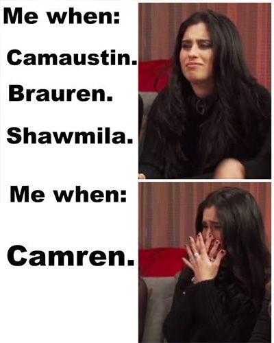 16 Memes That Prove Camila Cabello & Lauren Jauregui Are Actually Soulmates